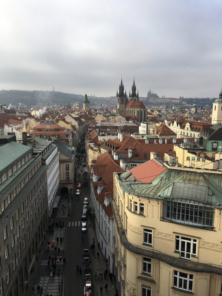 Prague and New Year 2017