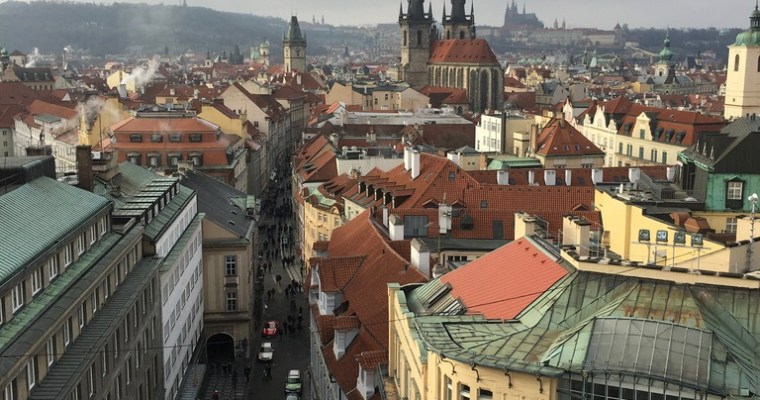 Prague and New Year 2017