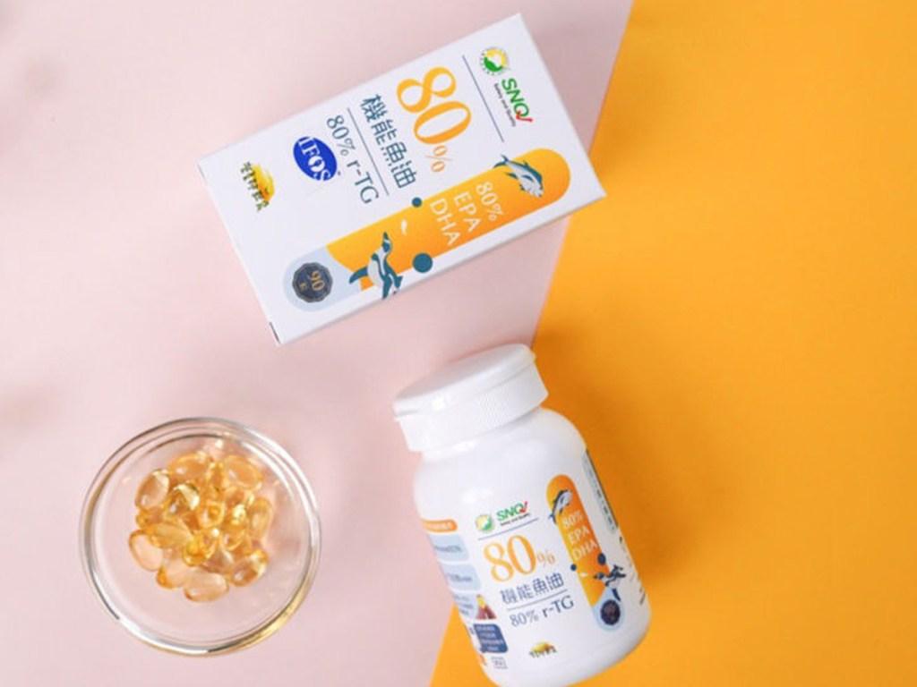 營養師輕食是台灣第一個從原料到成品,皆榮獲-IFOS-認證的魚油品牌(圖片來源-營養師輕食)