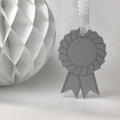 rosette Christmas decoration