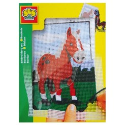 Kids Embroidery Horse