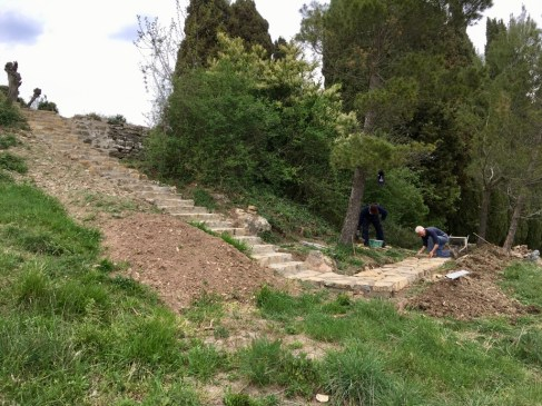 Castello di Montegiove, Stairways 3