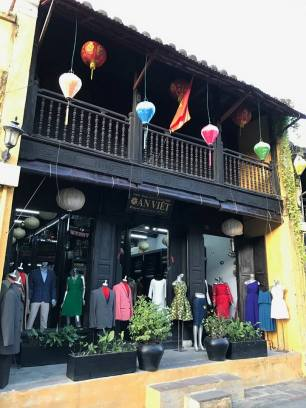 A typical shop in Hoi An