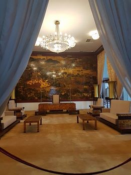 One of the chambers in the Palace