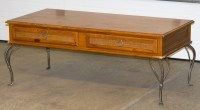 Coffee Table to Upholstered Bench | Life at the Cottage