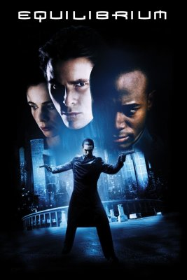 "Poster for the movie ""Equilibrium"""