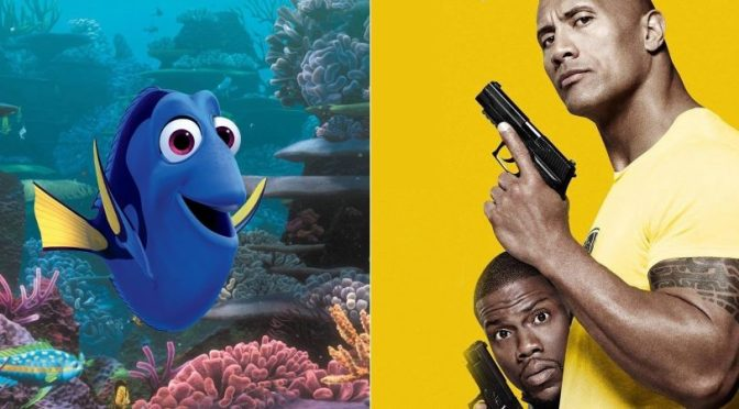 Weekend Outlook – Finding Dory and Central Intelligence