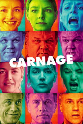 "Poster for the movie ""Carnage"""