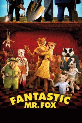 """Poster for the movie """"Fantastic Mr. Fox"""""""