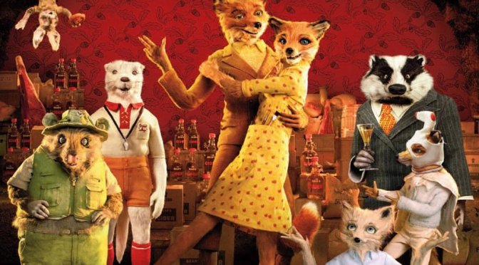 "Poster for the movie ""Fantastic Mr. Fox"""