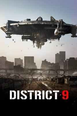 """Poster for the movie """"District 9"""""""