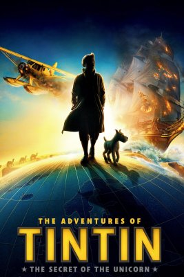 "Poster for the movie ""The Adventures of Tintin"""