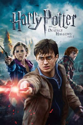"Poster for the movie ""Harry Potter and the Deathly Hallows: Part 2"""