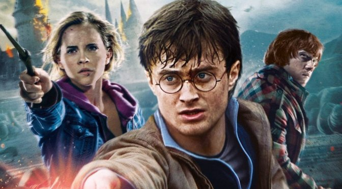 """Poster for the movie """"Harry Potter and the Deathly Hallows: Part 2"""""""