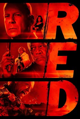 "Poster for the movie ""RED"""
