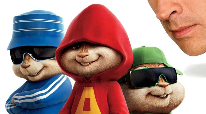 """Poster for the movie """"Alvin and the Chipmunks"""""""