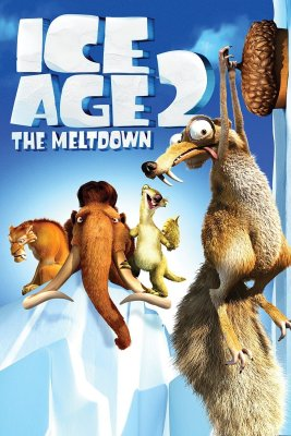"""Poster for the movie """"Ice Age: The Meltdown"""""""