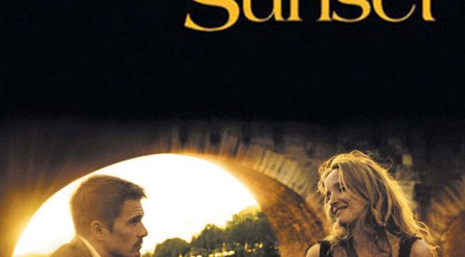 "Poster for the movie ""Before Sunset"""