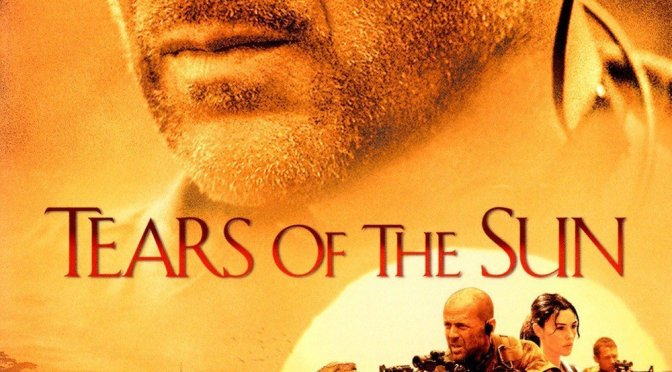 "Poster for the movie ""Tears of the Sun"""