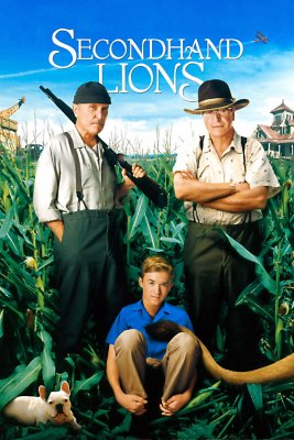 """Poster for the movie """"Secondhand Lions"""""""