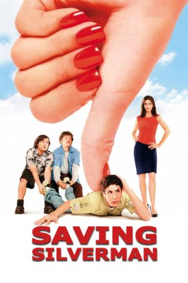 """Poster for the movie """"Saving Silverman"""""""