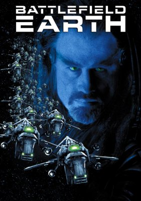 "Poster for the movie ""Battlefield Earth"""
