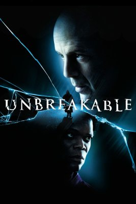 "Poster for the movie ""Unbreakable"""