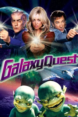 """Poster for the movie """"Galaxy Quest"""""""