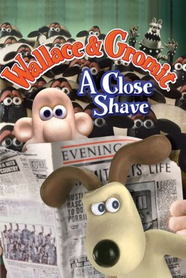"""Poster for the movie """"A Close Shave"""""""