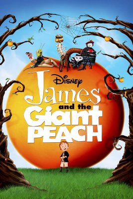"""Poster for the movie """"James and the Giant Peach"""""""