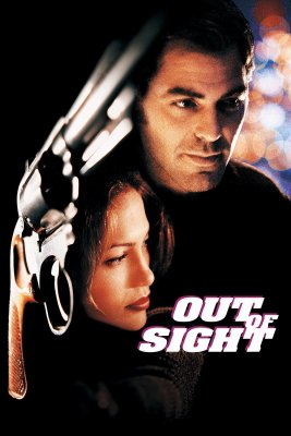 "Poster for the movie ""Out of Sight"""