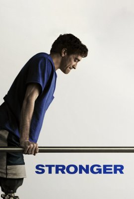 """Poster for the movie """"Stronger"""""""