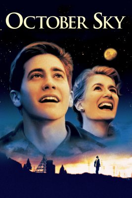 "Poster for the movie ""October Sky"""