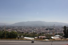 View from El Fortin in Oaxaca