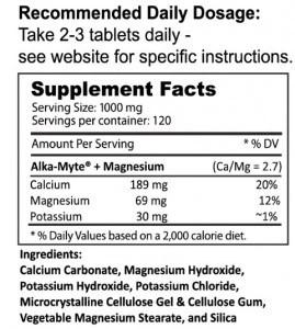 CAPLETS Supplement Facts