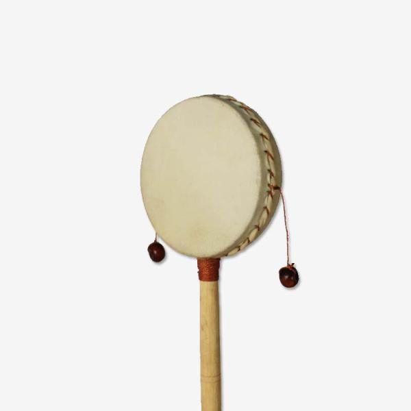 Small Rattle Drum - Plain