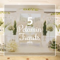 5 Pelamin Trends for 2015