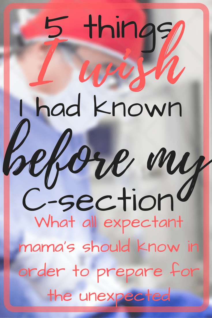 What to Expect: An Unexpected C-Section