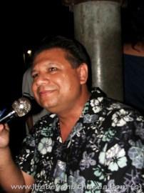 Karaoke in barangay Basak