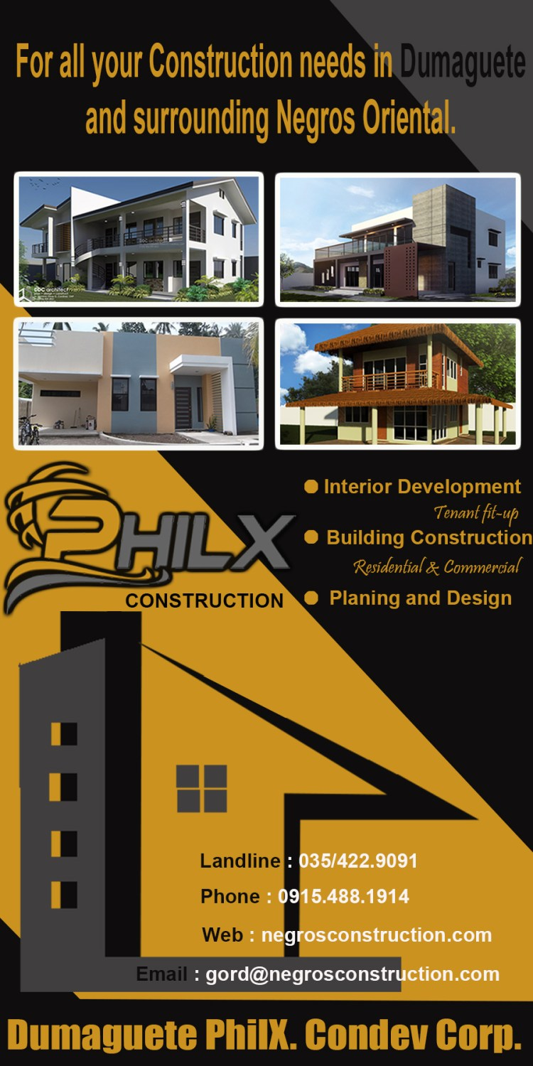 philx real estate buy purchase land construction expat dumaguete
