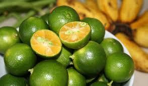 hot calamansi - great for sore throat
