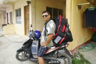 Ready to my trek to Cebu.