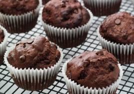 Muffin Pisang Coklat