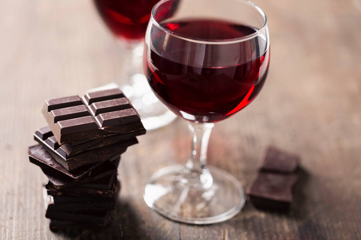 Eating chocolate and drinking red wine could help prevent