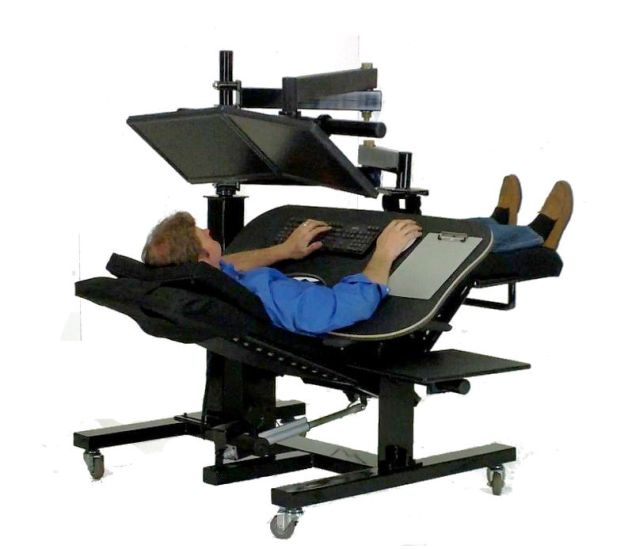 zero gravity desk chair and half sleeper ergoquest workstations
