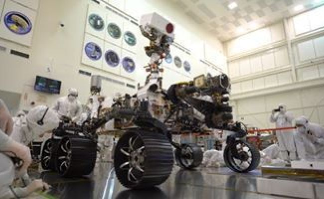 Our Next Mars Rover Gets Closer To Launch On This Week