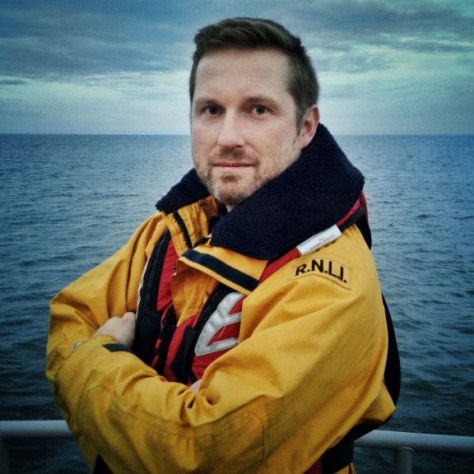 Jack Lowe on the Tynemouth Lifeboat