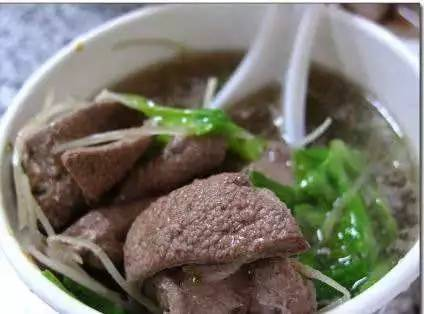 韭菜豬肝湯