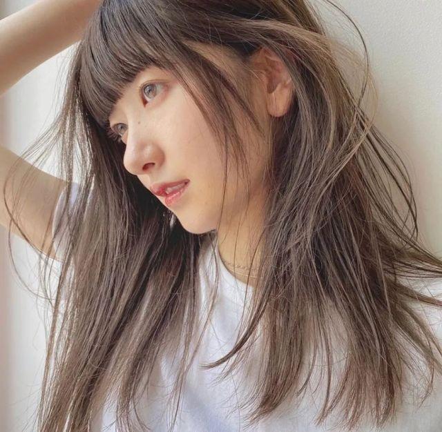髮型造型-奶茶色染髮
