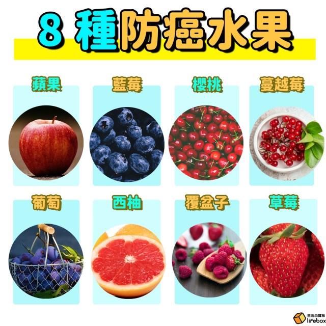 吃這8種防癌水果預防癌症
